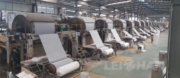Minimum Capacity Toilet Paper Making Machine