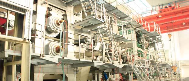2880mm Fluting Kraft Paper Roll Making Machine