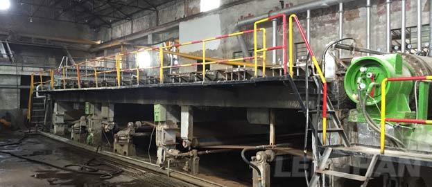 2400mm Corrugated Cardboard Paper Making Machine