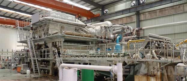 Tissue Paper Making Machine Operation Question