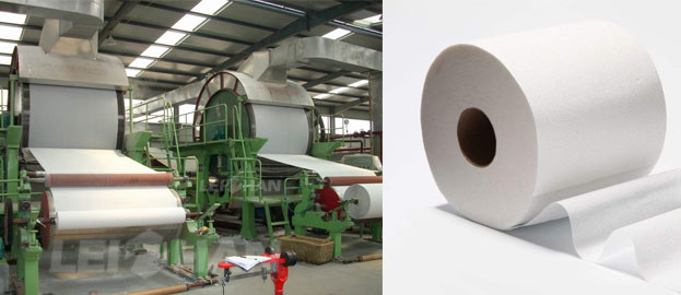Facial Tissue And Toilet Paper Pulping Machine