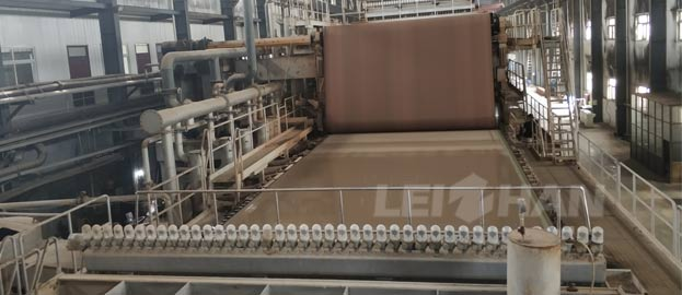 120t kraft Top Layer Stock Preparation Project