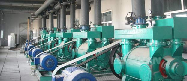 Paper Mill Vacuum System Energy Saving